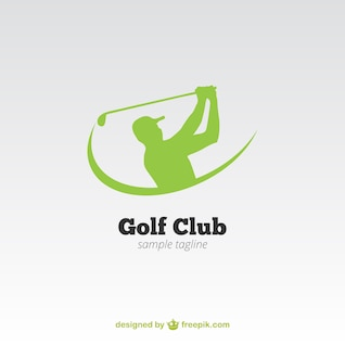 Logo de club de golf