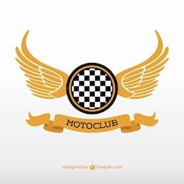 Logo de club de motociclismo