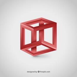 Logo de cubo 3D