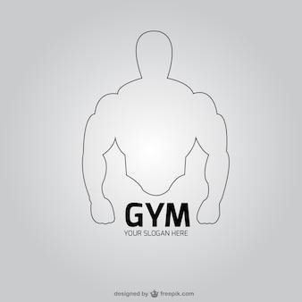 Logo para club de fitness