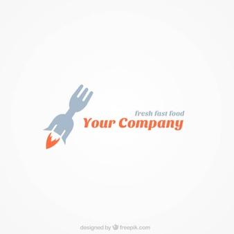 Logo Tenedor de restaurante