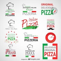 Logos de pizzería