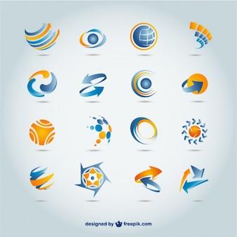 Colección de diseños de logos