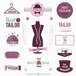 Logos e insignias de modista
