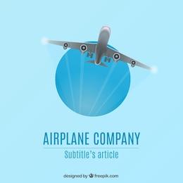 Logotipo de la empresa Avión