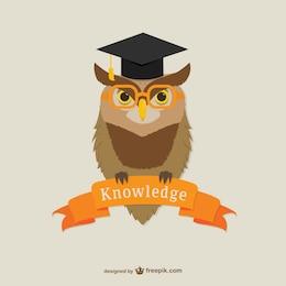 Logotipo de Universidad de Oxford con búho