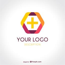 Logotipo médico plantilla