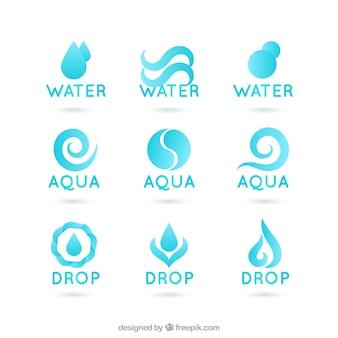 logotipos de agua
