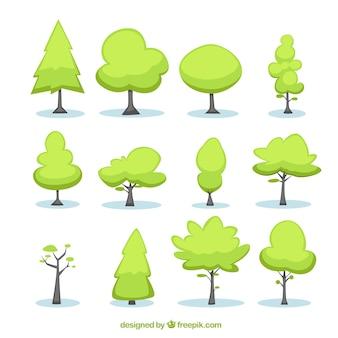 Los árboles ilustración