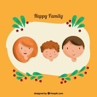 Los avatares de la familia feliz