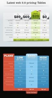 los elementos web finas y práctico material en capas psd