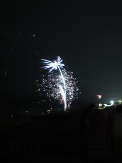 los fuegos artificiales cuarto julio