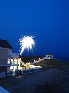 Los fuegos artificiales del Cuatro de Julio del verano
