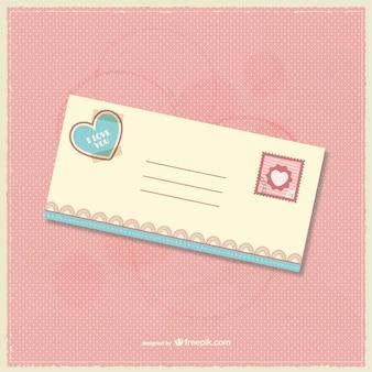 Postal de amor