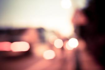 Luces de la noche de colores
