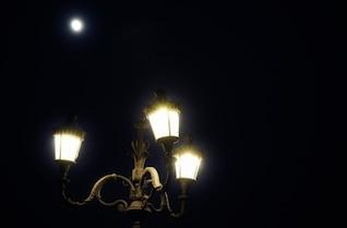 Luces y la luna