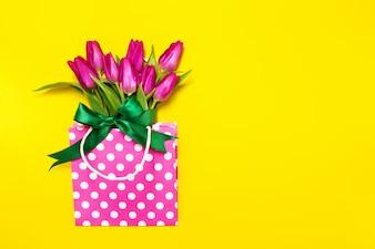 Madres romántico hermoso día floración