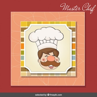 Maestro cocinero feliz