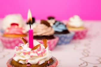 Magdalenas del cumpleaños