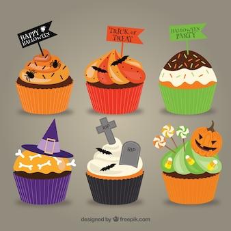Magdalenas deliciosas de Halloween