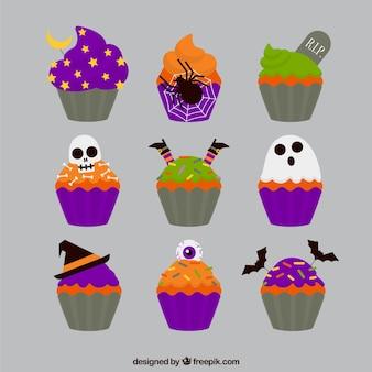 Magdalenas deliciosas para Halloween