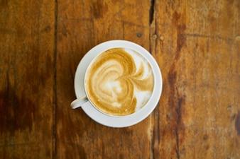 Pausa para el cafe fotos y vectores gratis for Taza de cafe con leche