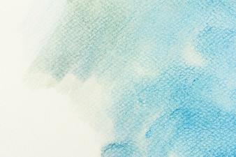 Mancha azul degraada
