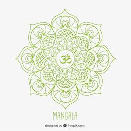 Mandala esbozado