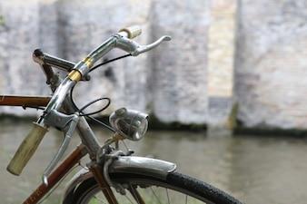 Manillar de la bicicleta