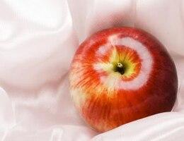 manzana del desayuno
