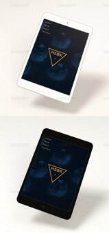 Maqueta de mini ipad