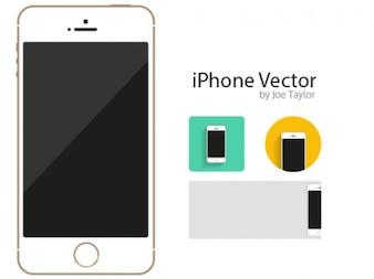 Maqueta iphone con iconos