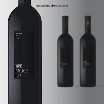 Maqueta Vino elegante