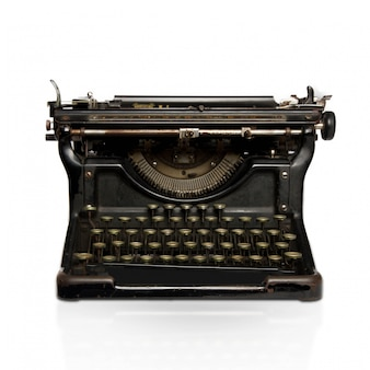 Máquina de escribir de acero
