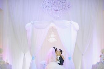 Maravilloso día de la boda