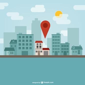 Marcador de ubicación