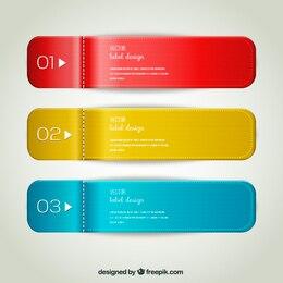 Marcadores etiquetas