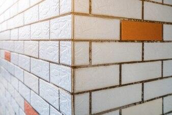 Marco completo de pared de ladrillo