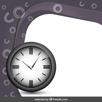 Marco con el reloj