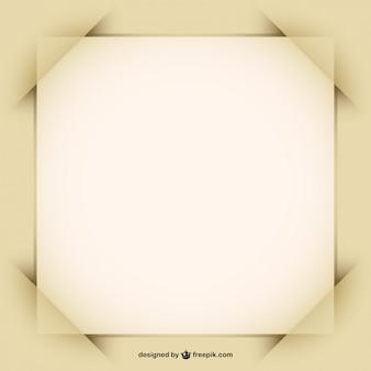 Marco de papel, formato vectorial