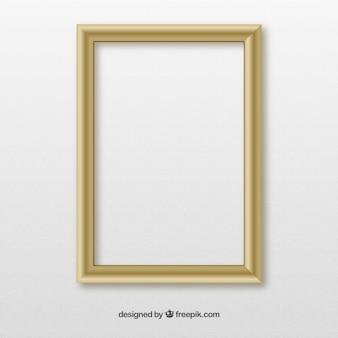 Marco de pared de madera