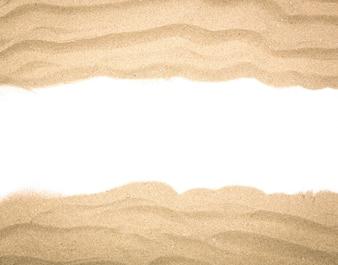Marco fantástico hecho con arena
