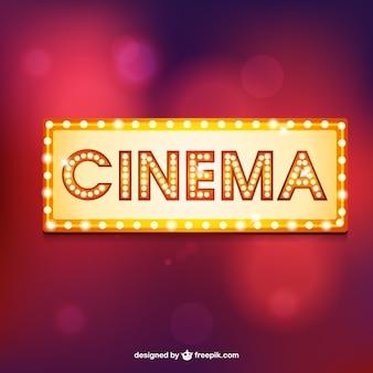 Marquesina retro de cine