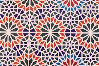 Marruecos fondo de los azulejos