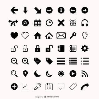 más de material de vectores icono de la utilidad