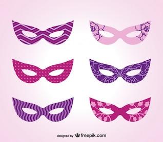 Máscara de carnaval, imagen vectorial