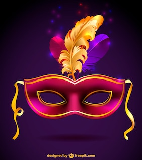Máscara de carnaval gratis