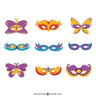 Colección de máscaras