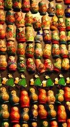 matryoshka muñecas de juguete