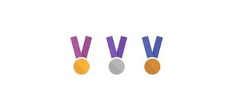 Medallas Awar. Oro, Plata y Bronce